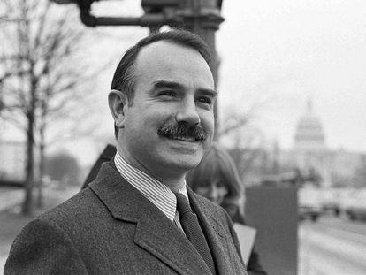 G. Gordon Liddy, en Washington, en una foto de 1973.