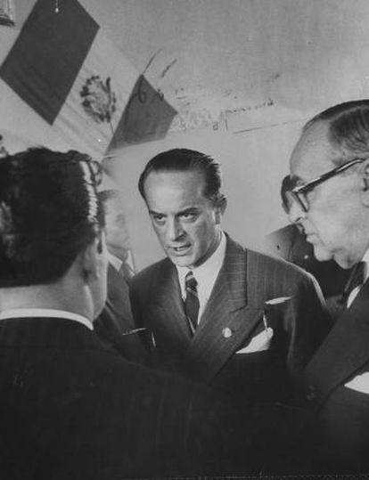 Jacobo Árbenz, en 1953.
