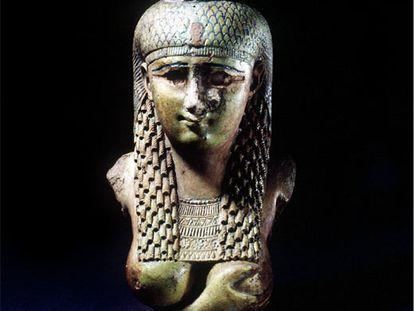 Busto de Cleopatra del British Museum de Londres.