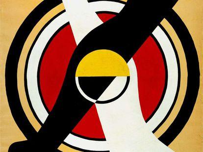 'Homenaje a la danza', de Fernand Léger.