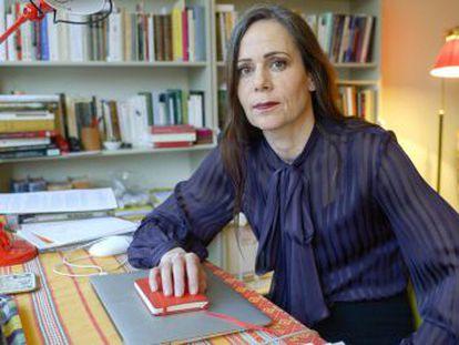 Sara Danius, la primera mujer en ocupar la secretaría de la Academia Sueca.