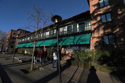 Fachada de la Residencia de Estudiantes.
