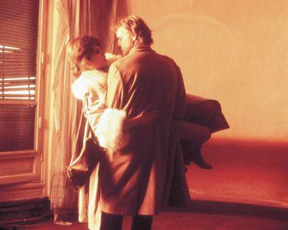 Marlon Brando y Maria Schneider en un fotograma de 'El último tango en París'.