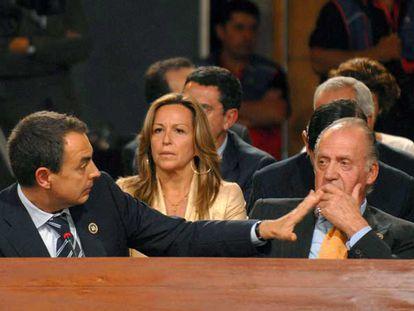 Rodríguez Zapatero replica a los insultos de Hugo Chávez.