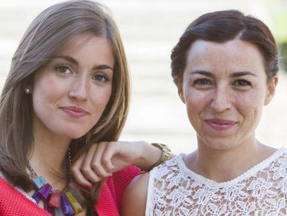 Las psicólogas Cristina Rodríguez y Belinda Martínez