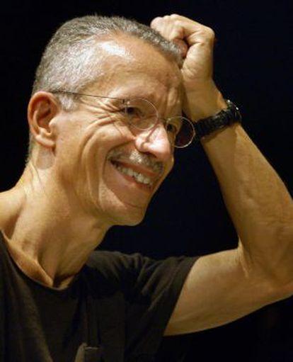 El músico Keith Jarrett, en el Teatro Real de Madrid.