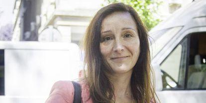 La magistrada del caso ERE, María Núñez, en los juzgados.