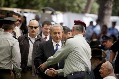 El primer ministro israelí en Haifa el 15 de septiembre.