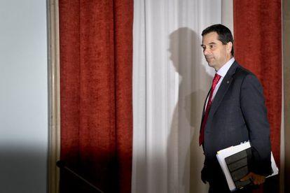 El ministro de Finanzas portugués, Vítor Gaspar.
