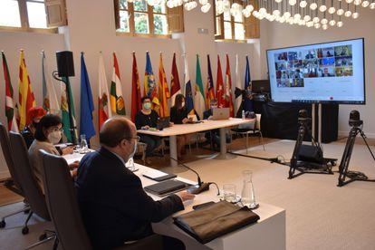 Reunión del Consejo Interterritorial de Salud celebrada el 2 de junio.