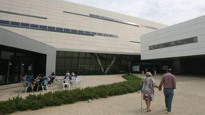 Imagen de uno de los accesos al hospital Sant Joan de Reus.