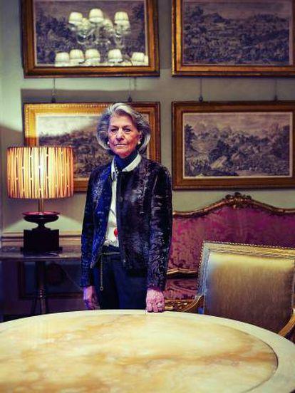 Giovanna Gentile Ferragamo capitaneó en 1967 la primera línea de moda femenina de la casa.