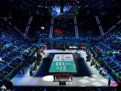 Imagen de la ceremonia inaugural de 2019, en la Caja Mágica de Madrid.