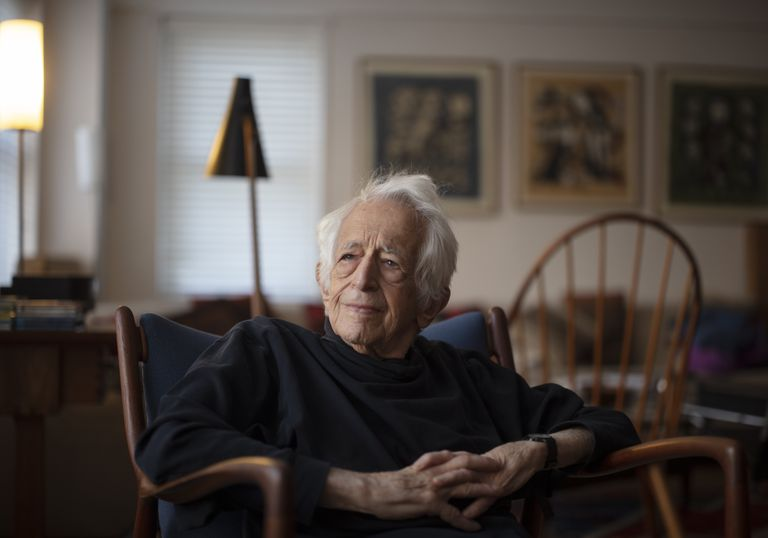 El filósofo Richard J. Bernstein, en su casa de Nueva York el pasado 4 de febrero.