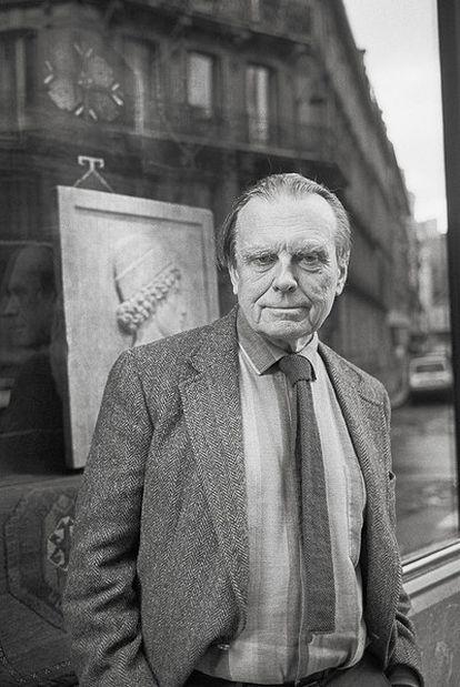 Czeslaw Milosz, en París en 1986.