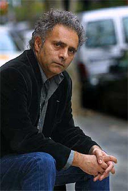 El escritor Hanif Kureishi, ayer en Barcelona.