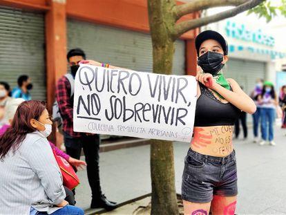 Las guatemaltecas combaten con denuncias públicas su miedo a la violencia machista