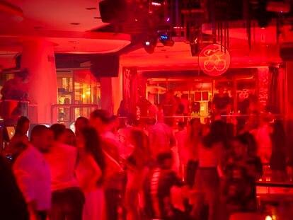 Discoteca Pachá de Barcelona, el sábado