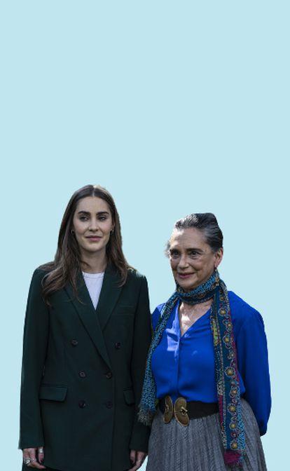 Emilia García, nieta de García Márquez y Ofelia Medina.