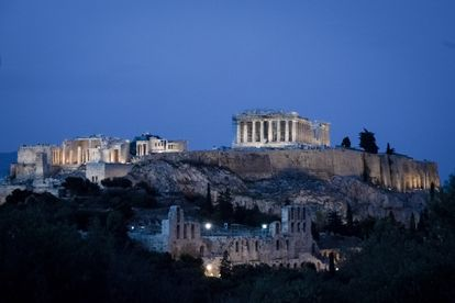 The Parthenon and the rest of the Acropolis, on May 1.