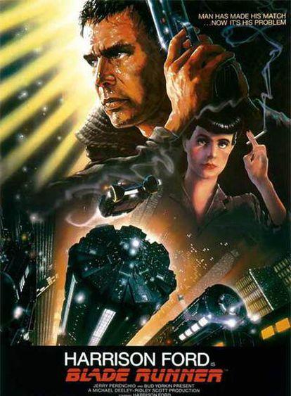 Cartel promocional de 'Blade Runner'