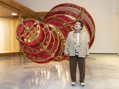 Helga de Alvear, el pasado mes de enero en su museo.