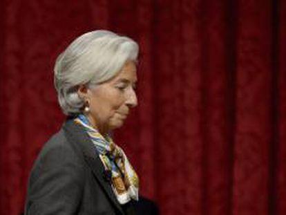 En la imagen, la directora del Fondo Monetario Internacional (FMI), Christine Lagarde. EFE/Archivo