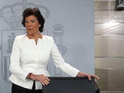 El órgano estima parcialmente la demanda presentada por Ciudadanos contra la ministra portavoz