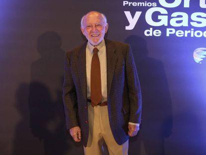 Álvaro de Luna, en los premios Ortega y Gasset de 2017.