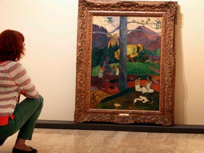 'Mata Mua', una de las obras más conocidas de Paul Gauguin, ya no podrá verse en el Museo Nacional Thyssen-Bornemisza.
