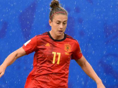 Alexia Putellas, en el pasado Mundial.