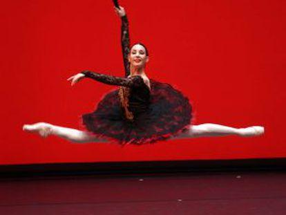 Tamara Rojo, durante su actuación en 'Don Quijote', dirigida por Julio Bocca, en el Teatro Real de Madrid (2009).
