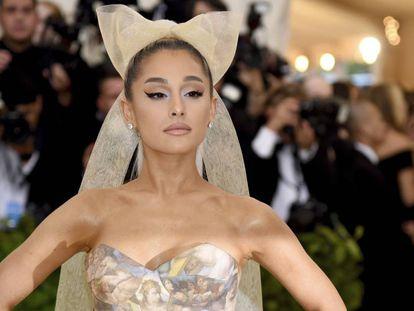 Ariana Grande, en la gala del Museo Metropolitano de Nueva York, el pasado mayo.