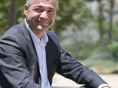 Oriol Amoros, candidato a las primarias de ERC a la alcaldía de Barcelona.