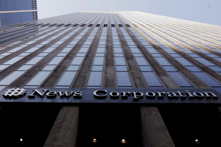 News Corporation headquarters in Manhattan (New York).