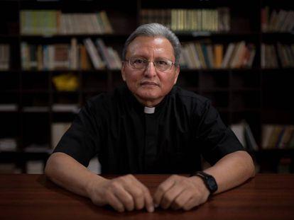El jesuita José Alberto Idiáquez, rector de la Universidad Centroamérica de Nicaragua.