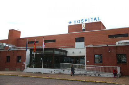 Fachada del Hospital de Medina del Campo.