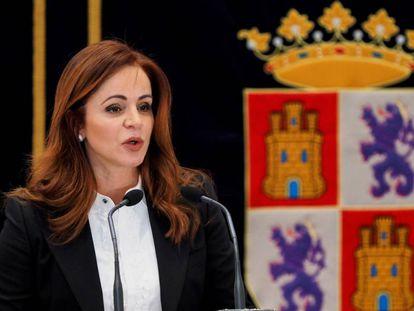La presidenta de las Cortes de Castilla y León, Silvia Clemente, anuncia este jueves que deja su cargo en una comparecencia pública en Valladolid.