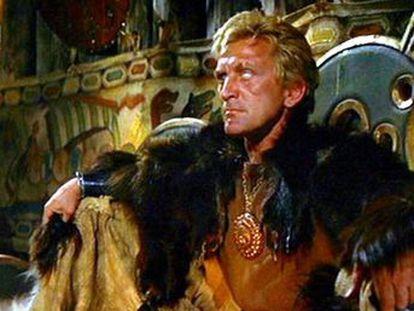 En  Los vikingos , Kirk Douglas convierte a Einar en un símbolo de la destrucción del individuo nietzscheano a manos de fuerzas emergentes que no comprende