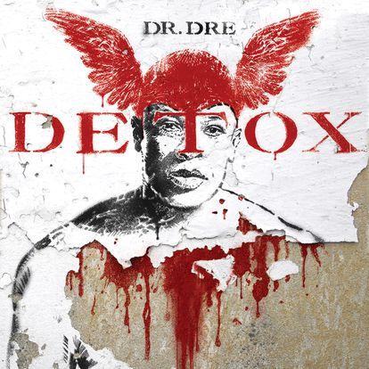 Carátula imaginada por el diseñador Javier Aramburu para el disco 'Detox', de Dr. Dre.