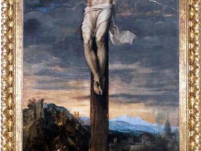 'Cristo crucificado', de Tiziano.