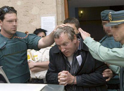 El mafioso ruso Gennadios Petrov, detenido en Calviá (Mallorca).