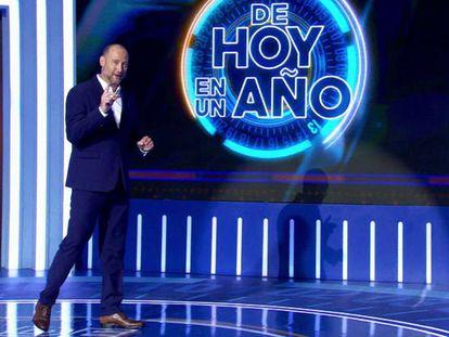 Pedro García Aguado, presentador de 'De hoy en un año', nuevo programa de Antena 3.
