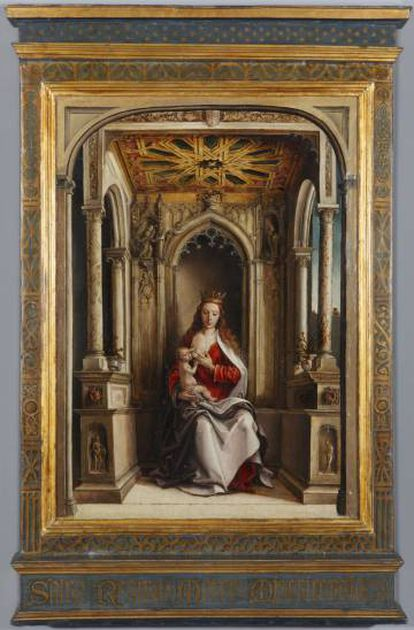 'La Virgen de la Leche' de Pedro de Berruguete.