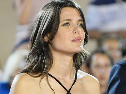 Carlota Casiraghi en el CSI2 Monte Carlo Grand Prix, en Mónaco, en junio.