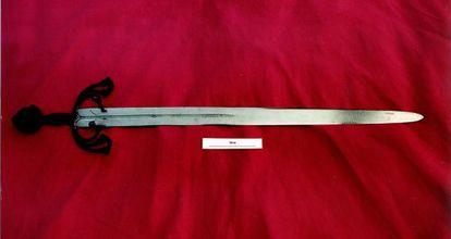 La espada 'Tizona'.
