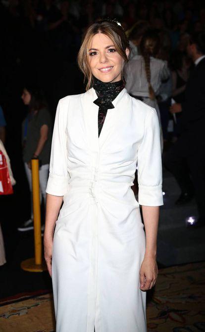 La actriz Manuela Velasco en 2018.