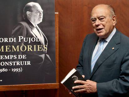 Jordi Pujol, durante la presentación de la segunda parte de sus memorias, en 2009.