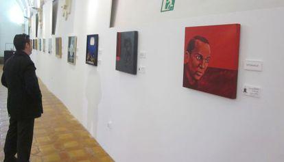 Exposición colectiva sobre Miguel Hernández en Orihuela.
