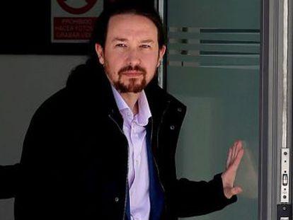 """""""Reitero nuestro compromiso de limpiar la democracia de basura"""", ha afirmado el líder de Podemos, que en 2016 denunció la sustracción de un móvil de una persona cercana"""